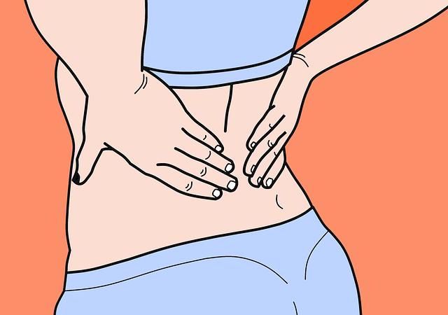 Comment atténuer un mal de dos?