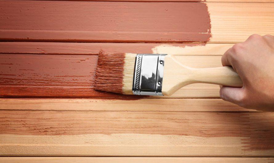 L'importance de la peinture sur bois